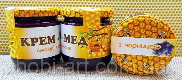 Крем - мед з чорницею, 200мл./270г