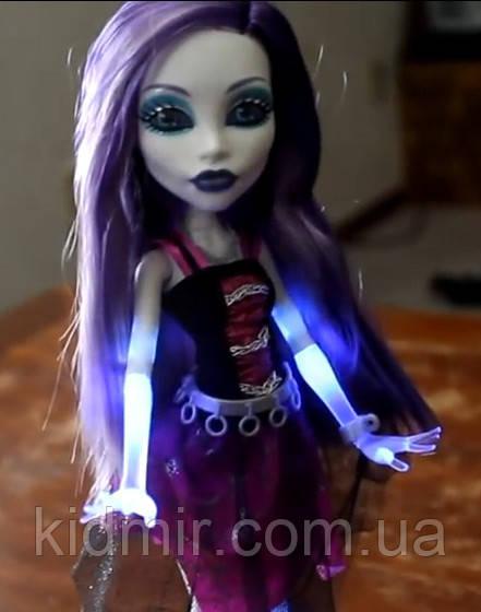 Кукла Monster High Спектра Вондергейст (Spectra) Она живая Монстер Хай Школа монстров