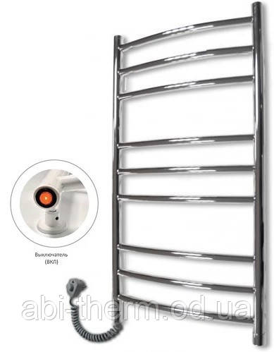 Полотенцесушитель Сходи-9 870x480 (ліве підключення)