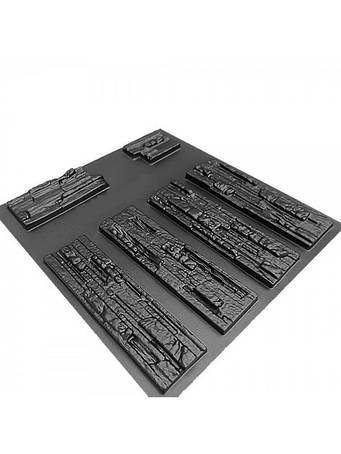 Формы для изготовления декоративного камня (АБС пластик)