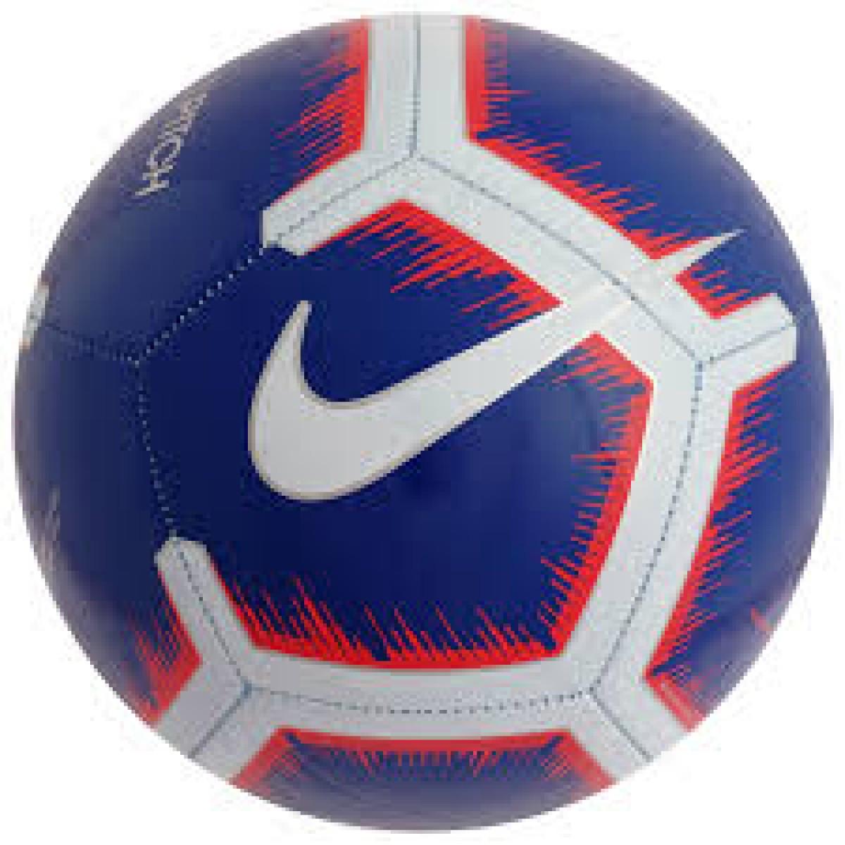 Мяч футбольный Nike Premier League Pitch SC3597- 455 размер 5 для игр и тренировок любительского уровня