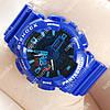 Яркие наручные часы Casio GA-110 Blue/Black/Azure 621