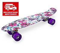 Скейт Пенни борд для девочки Penny Board Ultra 22 54 см