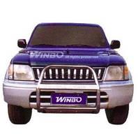 Защитная дуга бампера (кенгурятник) Toyota Land Cruiser Prado 90