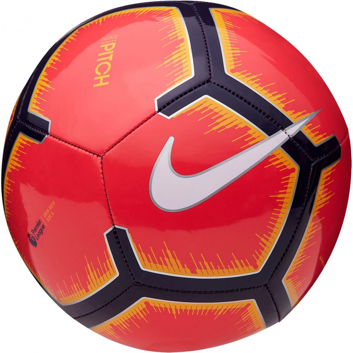 Мяч футбольный Nike Premier League Pitch SC3597- 671 размер 5 для игр и тренировок любительского уровня