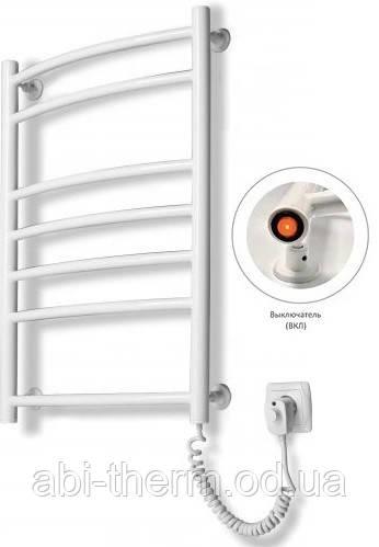 Полотенцесушитель Лестница-7 белый 725x480 (правое подключение)
