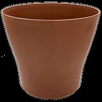 Горшок для цветов Gardenya 13 л коричневый, фото 1