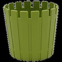 Горшок для цветов Akasya 1 л зеленый, фото 1