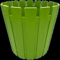Горшок для цветов Akasya 16 л зеленый, фото 1