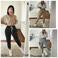 Женские спортивные штаны на флисе, фото 1