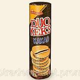 Печиво з шоколадом GRIESSON DUO KEKS 500Г Какао, фото 2