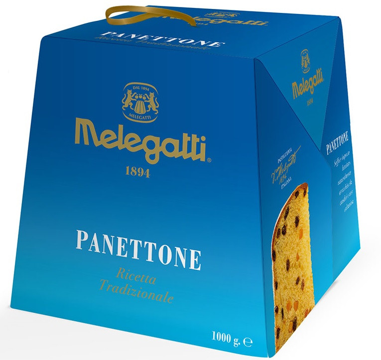 Panettone Melegatti Традиционный с цукатами и изюмом 750 g