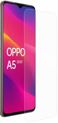 Гидрогелевая защитная пленка на OPPO A5 2020 на весь экран прозрачная