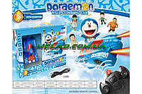 Антигравитационная летающая машинка Doraemon голубой, пластик, радиоуправляемые игрушки, детская игрушка