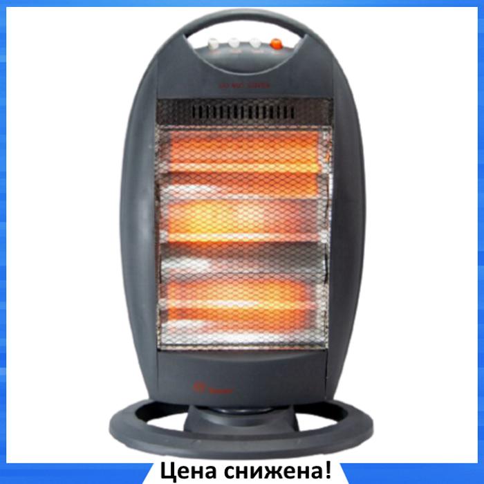 Обогреватель инфракрасный Dоmotec Heater MS-5951 - Галогенный напольный инфракрасный электрообогреватель 1200W