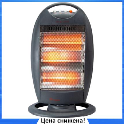 Обогреватель инфракрасный Dоmotec Heater MS-5951 - Галогенный напольный инфракрасный электрообогреватель 1200W, фото 2