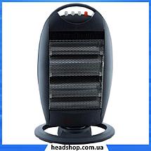 Обогреватель инфракрасный Dоmotec Heater MS-5951 - Галогенный напольный инфракрасный электрообогреватель 1200W, фото 3