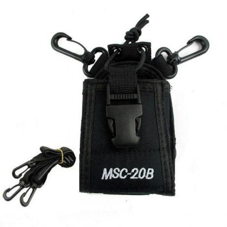 Чехол универсальный MSC-20B для раций Baofeng, Puxing, Kenwood, Motorola, Midland и др.