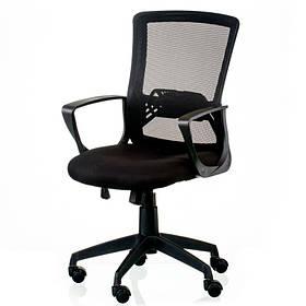 Крісло для офісу Admit Special4You чорне зі спинкою сітка