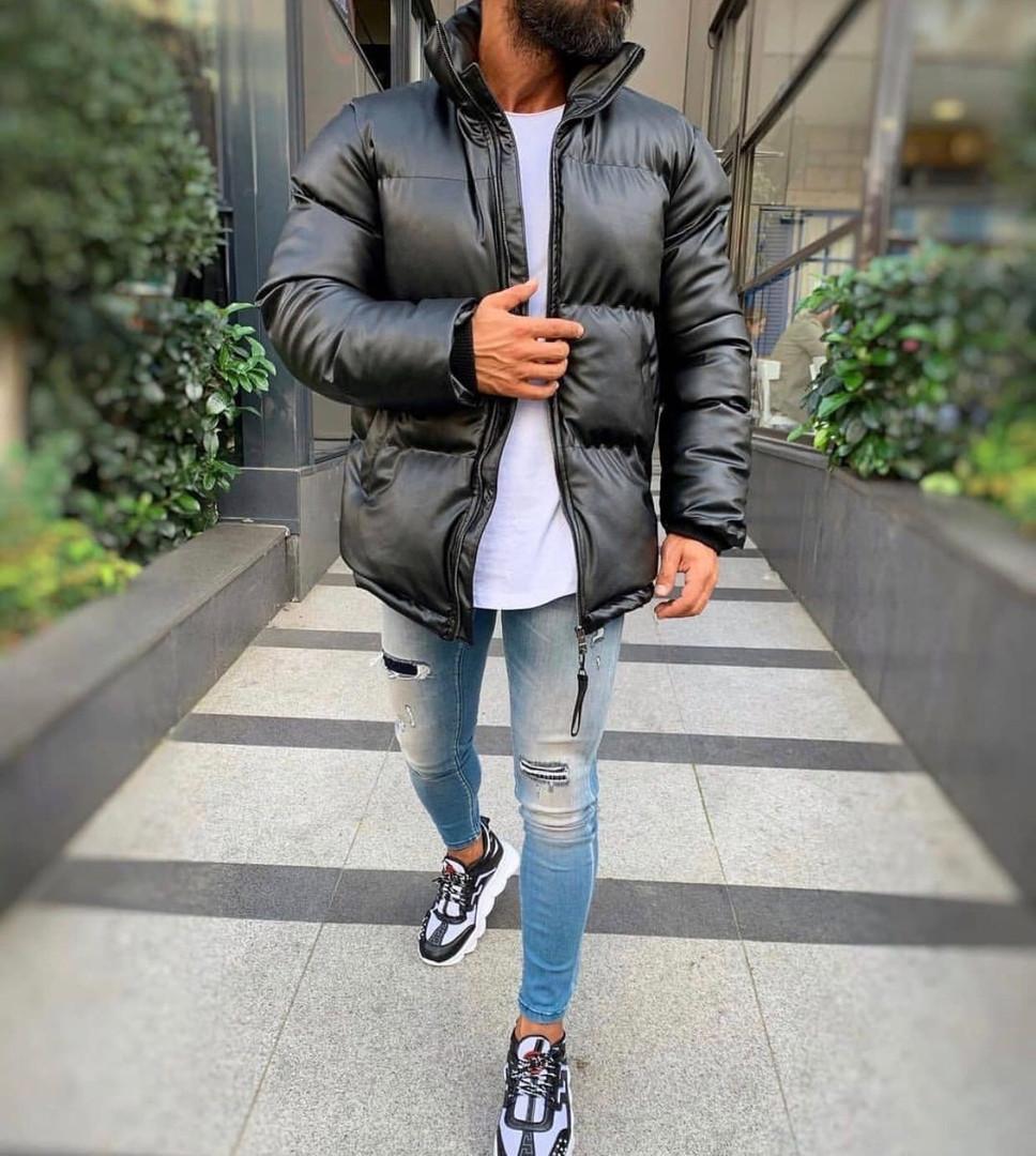"""Зимняя мужская куртка """"Black"""""""
