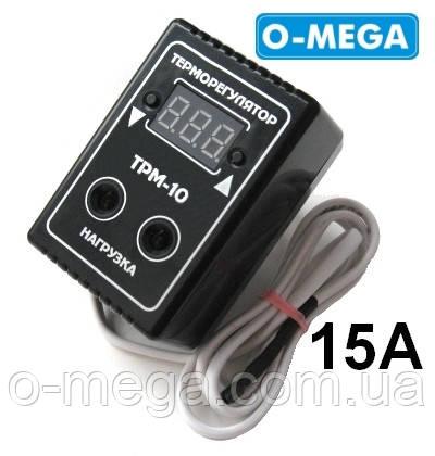 Терморегулятор цифровой ТРМ-10 розеточный 10А (-55...+125)