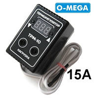 Терморегулятор цифровой ТРМ-10 розеточный 10А (-55...+125), фото 1