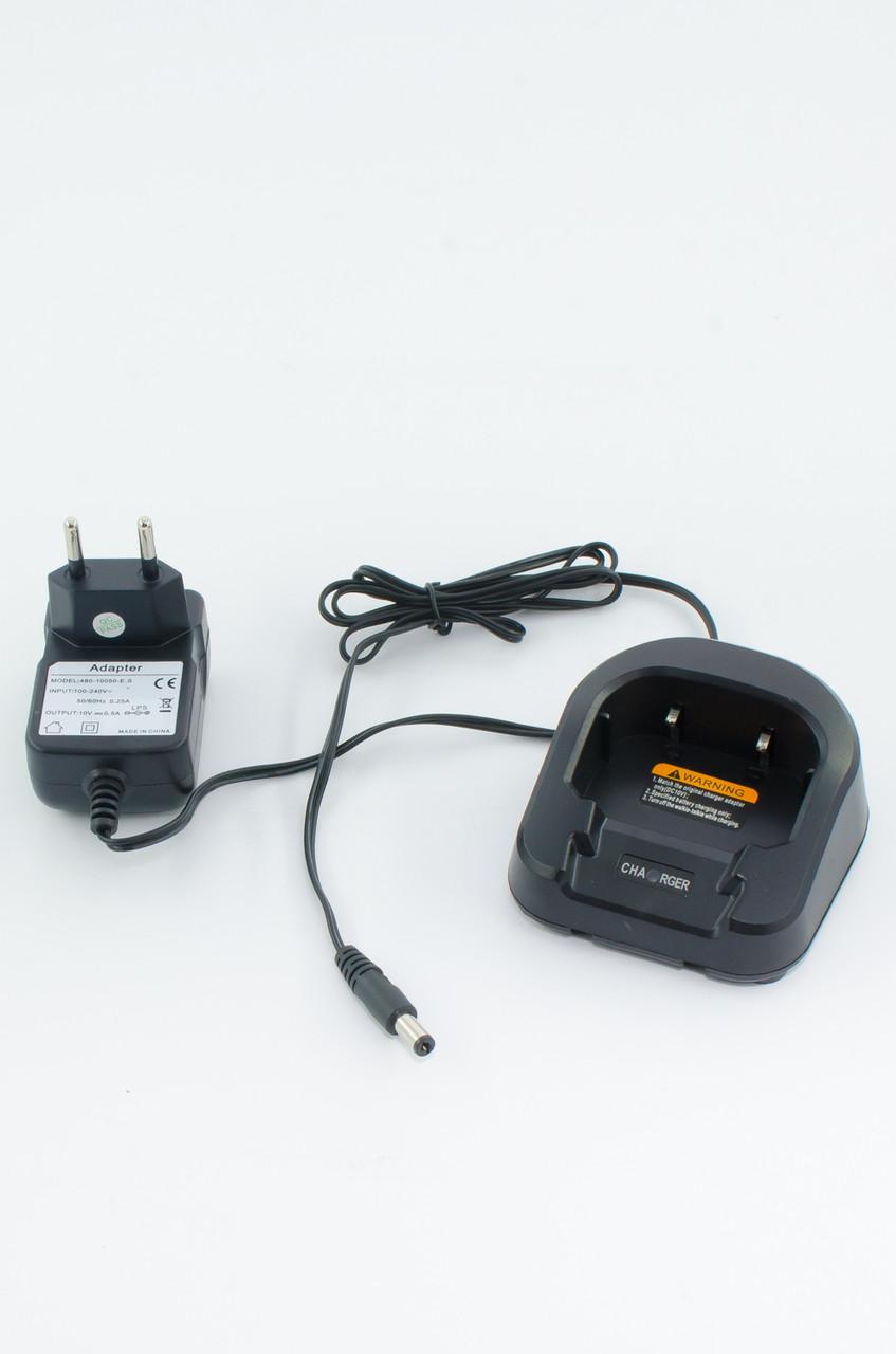 Оригинальное зарядное устройство для рации BAOFENG UV-82 (Стакан+Адаптер). Зарядний пристрій Baofeng UV82