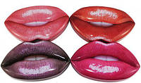 Набор жидких помад для губ Lips в боксе, блеск/карандаш для губ, матовая помада, жидкая помада