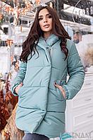 Женская тёплая зимняя куртка ( плащевка+синтепон 300)