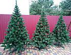 Новогодняя искусственная елка «Карпатская» ПВХ с подставкой ель сосна рождественская на новый год зеленая, фото 3