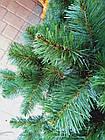Новогодняя искусственная елка «Карпатская» ПВХ с подставкой ель сосна рождественская на новый год зеленая, фото 2
