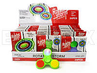 Спиннер для детей SPINNER-288-1A светящийся, разные цвета, спиннеры, игрушка антистресс