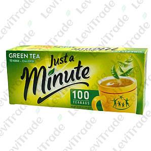 Чай зелений Minutka в пакетиках, 140г (100пак.), 20шт/ящ