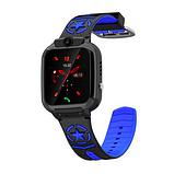 Детские смарт часы Smart Baby watch AISHI DS 60 с Wi-Fi сине - черный цвет +  2 ПОДАРКА. Детские GPS часы, фото 10