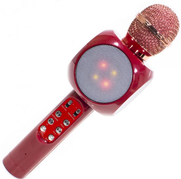 Караоке Микрофон Wster WS-1816 Розовый