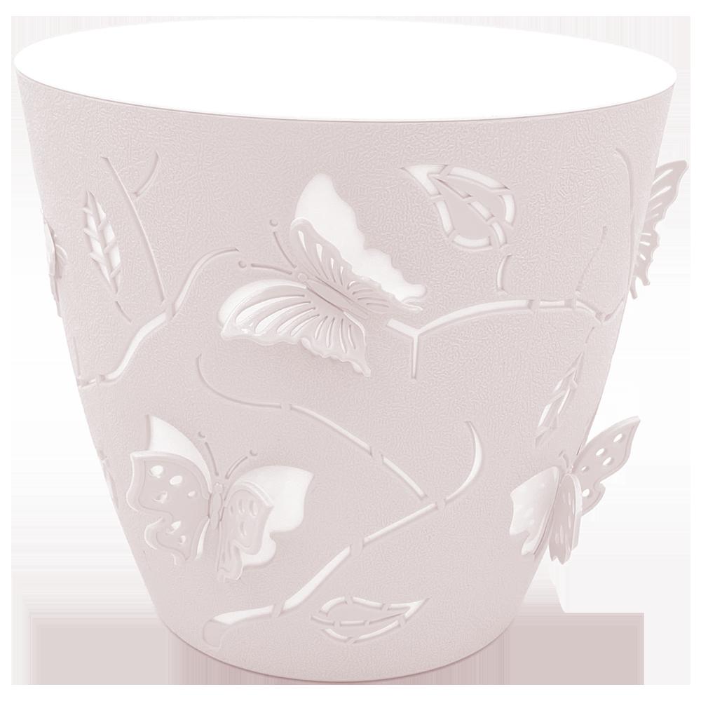 Горшок для цветов 3D 2,5 л розовый