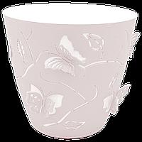 Горшок для цветов 3D 2,5 л розовый, фото 1