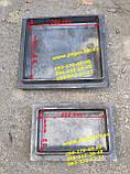 Дверки дверцы чугунные комплект грубу, печи, барбекю, мангалы чугунное литье, фото 2