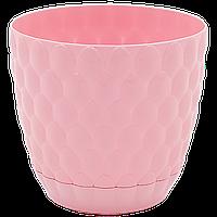 Горшок для цветов Pinecone 0,75 л розовый, фото 1