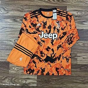 Футбольная форма Juventus Ювентус с длинным рукавом 20-21