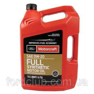 Ford Motorcraft Full Synthetic 0W-20 (для 2,0 hybrid) 4,73 л