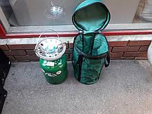 Газовий балон з пальником Пікнік Rudyy 8 літрів+ чохол