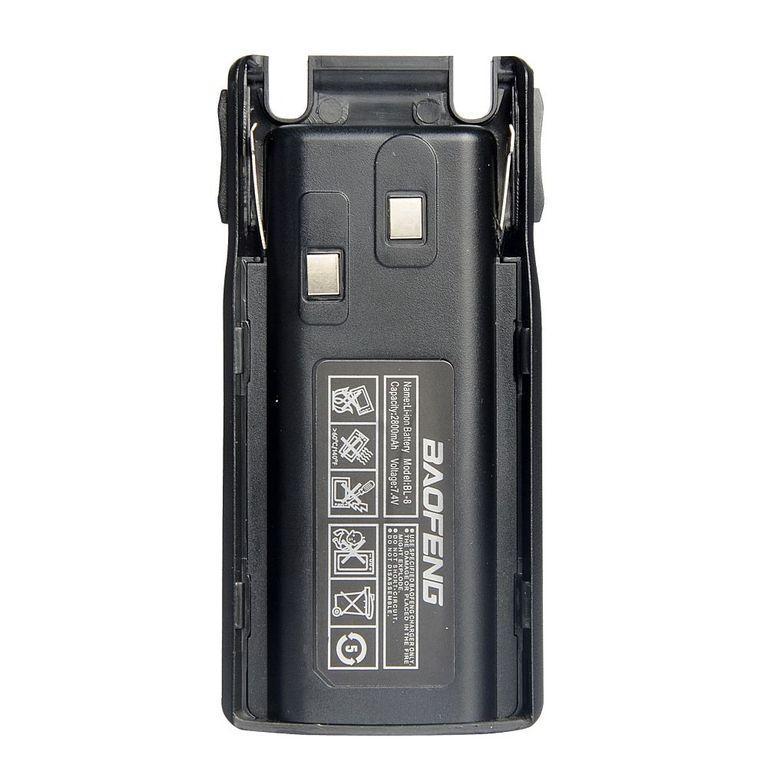 Акумуляторна батарея Baofeng для рації Baofeng UV-82 2800 MAh Акумулятор для Baofeng UV82