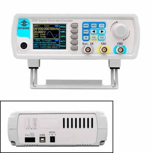 Двухканальный генератор сигналов DDS JUNTEK JDS6600-60M 60МГц, 101890