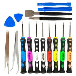 Набор инструментов для вскрытия корпусов разборки ремонта телефонов 16в1