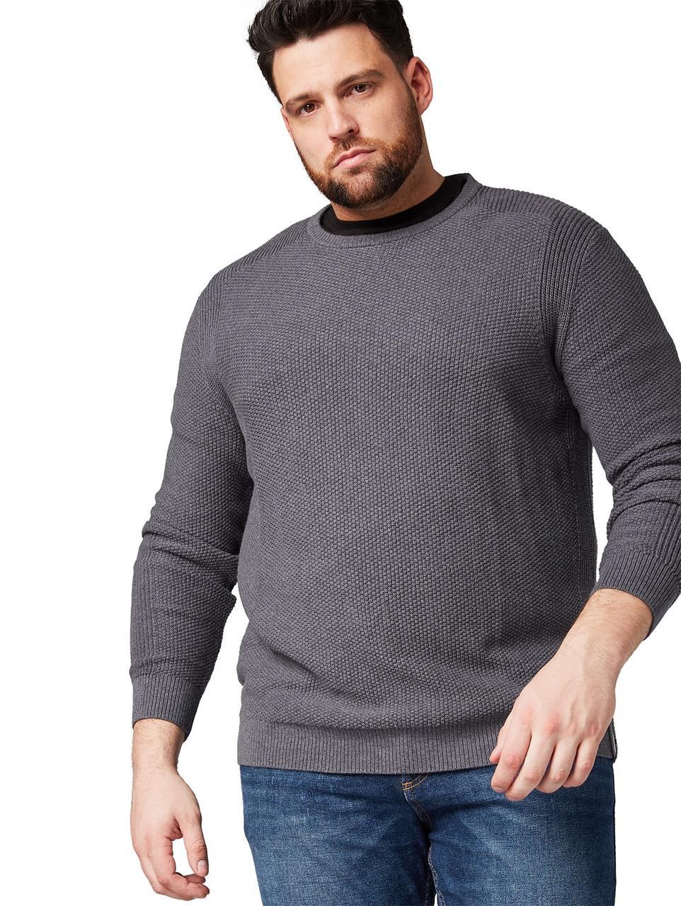 Джемпер Tom Tailor 1007499 3XL Серый