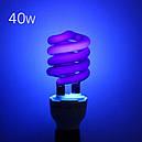 Лампа ультрафиолетовая энергосберегающая E27 220В 40Вт, 102471, фото 3