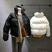 Женская стильная зимняя куртка, фото 1