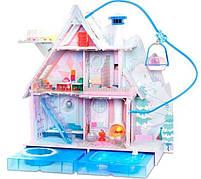 Домик для кукол ЛОЛ Сюрприз Зимний Шале  - LOL Surprise Chalet Winter Wonderland 571452, фото 2
