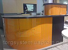 Перфорация как элемент декора для офисной мебели
